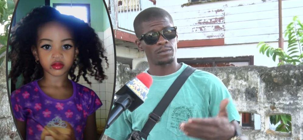 vader dochter Suriname Paramaribo ziekenhuis video