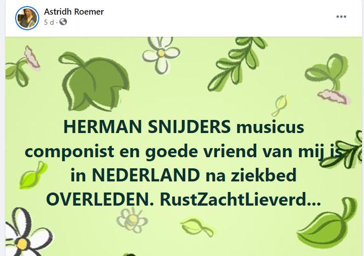 Herman snijders Nederland Suriname 1