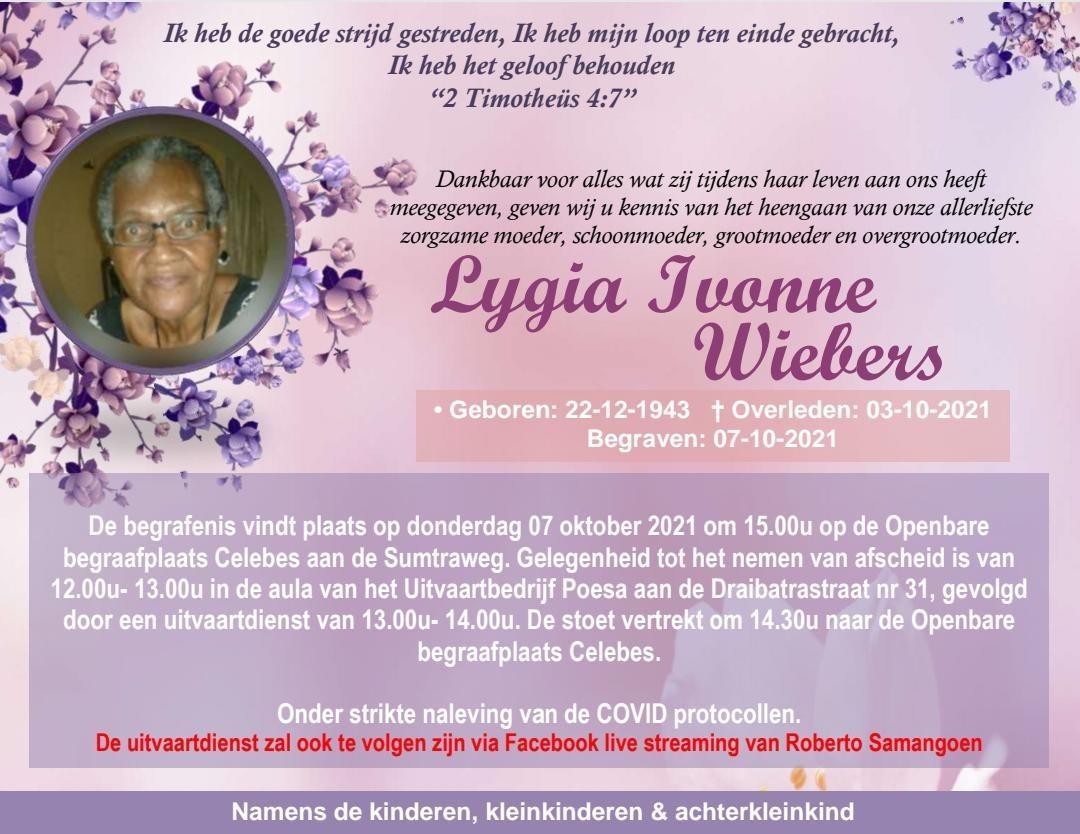 Ivonne Wiebers Kirpalani Suriname Paramaribo