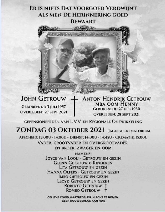 John hennie getrouw Suriname Paramaribo 12