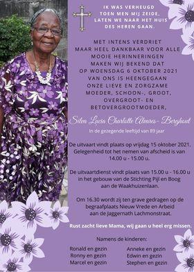 Sylvia Alvares Berghout Suriname Paramaribo