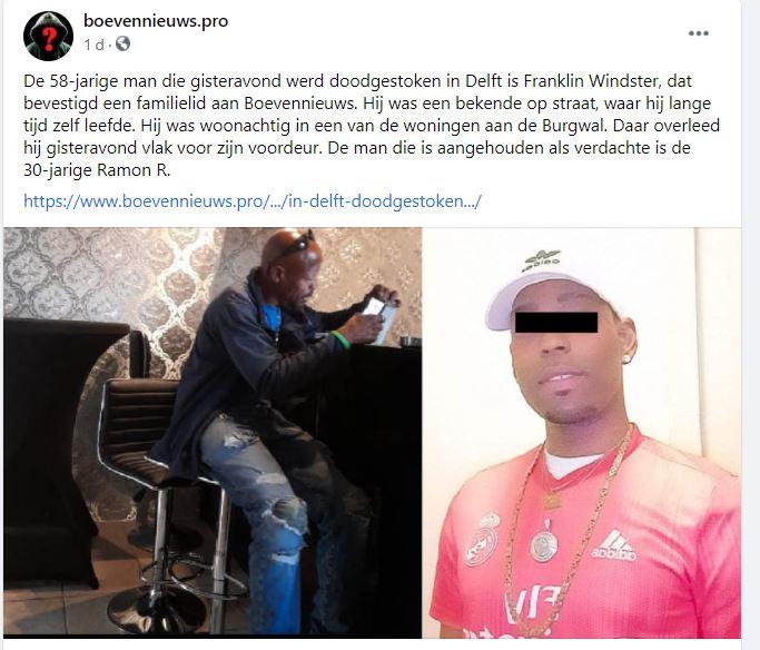kempi opsporing politie Nederland 1 delft 58-jarige man 2