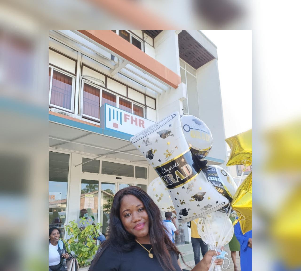 tienermoeder Suriname Paramaribo geslaagd Charlin Groenewoud 2